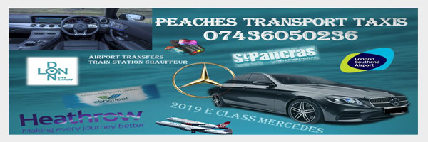 Peaches Transport Taxis
